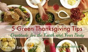 5 green thanksgiving tips gratitude for the earth