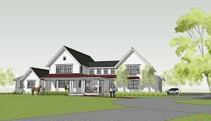 contemporary farmhouse plans stylish 23 modern one story farmhouse