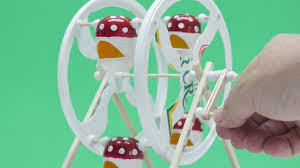 how to make a working ferris wheel at home diy projects crafts