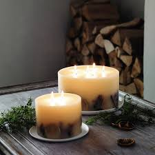 winter botanical candle large the white company tis the
