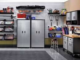 exciting garage shelving ideas cabinet wall ceiling shelf awesome design the white tile wall and silver storage black garage shelving ideas