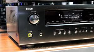 denon home theater receiver denon avr 2312 home cinema receiver first look munich high end