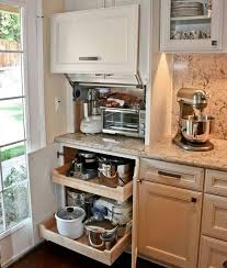 kitchen appliance storage ideas creative appliances storage ideas for small kitchens kitchen