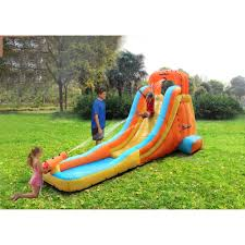 inflatable water slide t with decorating