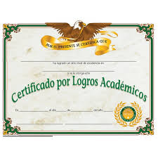 spanish certificate of achievement va508se hayes