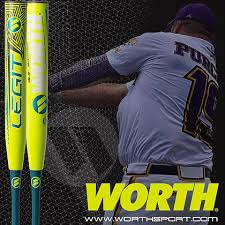 worth legit slowpitch softball bat infinity sports mesquite 2018 worth andy purcell