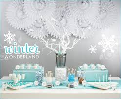 Winter Onederland Party Decorations White