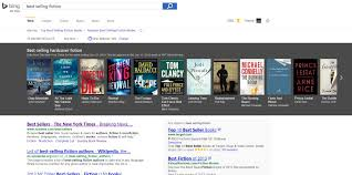 finding great books just got easier with bing best sellers search