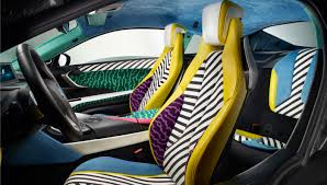 Bmw I8 Back Seats - bmw u0027s i8 memphisstyle makes north american debut at the frieze new
