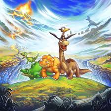 fanart land before time by s0pas on deviantart