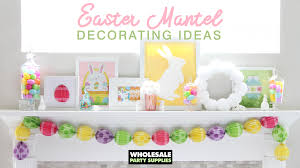 easter mantel decorations easter mantel decorating ideas party ideas activities by
