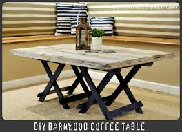 Barnwood Coffee Table How To Make A Reclaimed Barn Wood Coffee Table