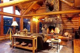 rentini luxury log home