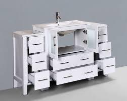 54 u0027 u0027 bosconi aw130u2s contemporary single vanity bathroom