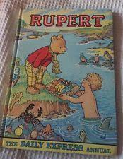 rare rupert bear book ebay