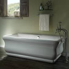 Soaker Bathtubs Mti S178 Wh Parisian 2 Freestanding Soaker Tub Qualitybath Com