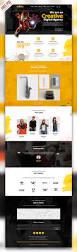 creative agency portfolio website psd template psdfreebies com