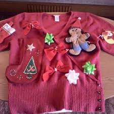 ugliest sweater sweater contest