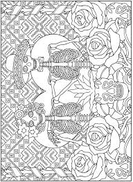 1000 images about sugar skulls on pinterest coloring sugar day