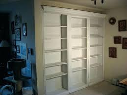 Bookcase Closet Doors Closet Door Bookcase Design Bookshelf Closet Door Bookcase