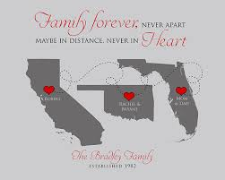 family gift quote maps and grandparents thank you