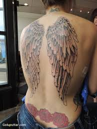 lovely back cover up with wings photos and ideas