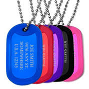 mens personalized dog tags custom dog tags for men ti