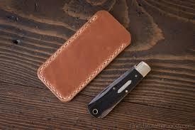 pocket knife slip case size small fits gec patterns 15