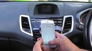 how to set up bluetooth on ford focus how to sync your iphone to the bluetooth sony radio cd telephone