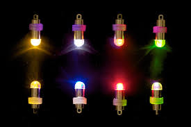led mini lights batteries included choice of colors 10 pack