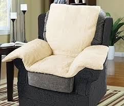 luxury chair nest with a cream fleece cover armchair furniture