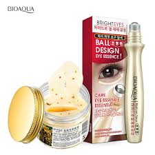 Serum Nr bioaqua 2pcs gold osmanthus eye mask 15ml eye serum nr remove