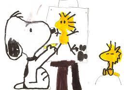 snoopy u0027s drawing pt 1 raposa6598 deviantart