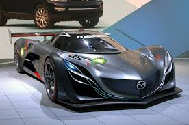 mazda hybrid mazda u0027s first rotary concept car is unveiled
