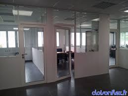 cloison aluminium bureau cloisonflex cloison vitrée cloison de bureau cloison métal