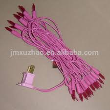 ul 120v 20l mini incandescent pink wire color