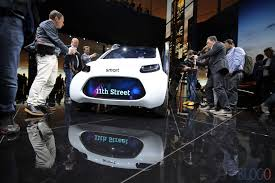 smart vision eq fortwo francoforte 2017 car sharing