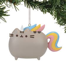 pusheen resin ornaments level up studios