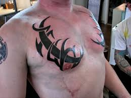 24 best black chest tattoos images on chest