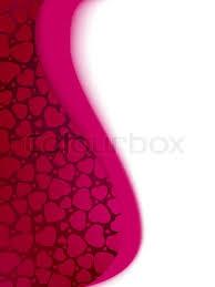 valentine u0027s day hearts card template stock vector colourbox