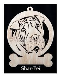 shar pei ornament 083919 personalized with your s