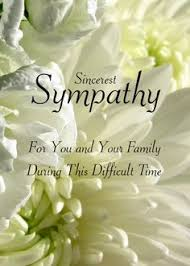 condolences cards you our deepest sympathy condolences pictures images and