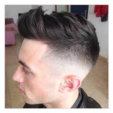 hairstyles for men with thick long hair with mid bald fade with