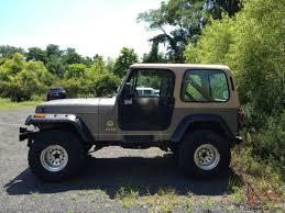 wrangler jeep 2 door jeep wrangler sahara sport utility 2 door 4 2l lots of new parts