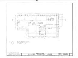 Dutch Colonial Home Plans Colonial Gambrel Roof Home Plan Detailed Architectural Drawings