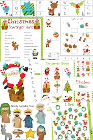the best christmas activities pack for kids natural beach living