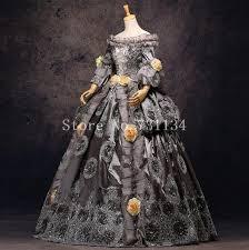18th Century Halloween Costumes Aliexpress Buy Vintage Grey 18th Century Rococo