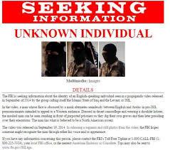 Seeking Poster Fbi Hoping To Identify American In Islamic State Propaganda