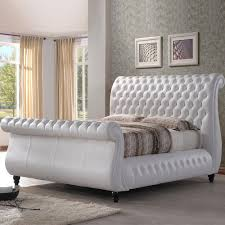 White Sleigh Bed White Velvet Sleigh Bed Vine Dine King Bed Ideas Velvet Sleigh Bed