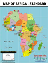 africa map all countries map of africa showing all countries in africa for sale in enugu